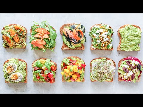 How to Make Avocado Toast 10 WAYS!