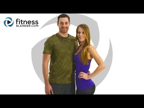 Fitness Blender's 5 Day Challenge – Strong and Lean – Day 1
