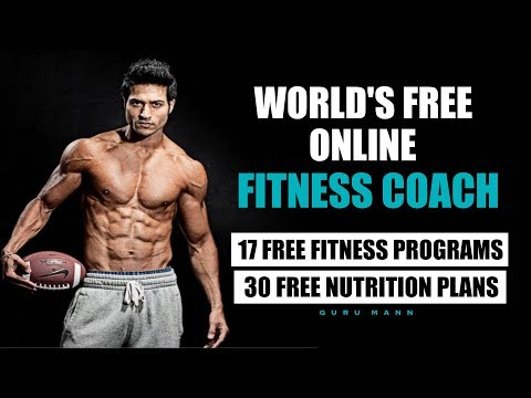 World's Free Online Fitness Trainer & Nutritionist – Guru Mann Launched 17 Programs