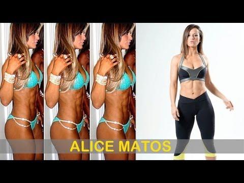 ALICE MATOS: IFBB Bikini Pro (Fitness Model): Exercises and workouts @ Brazil