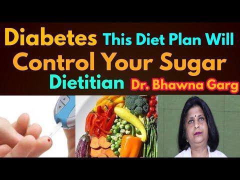 Diabetes control – Diet plan to control sugar – Dr. Bhawna Garg, Dietitian