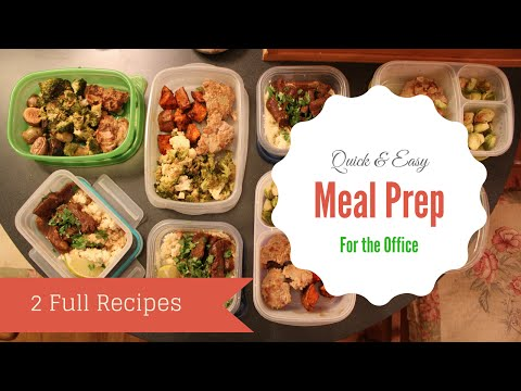 Quick and Easy Office Lunches | Healthy Recipes