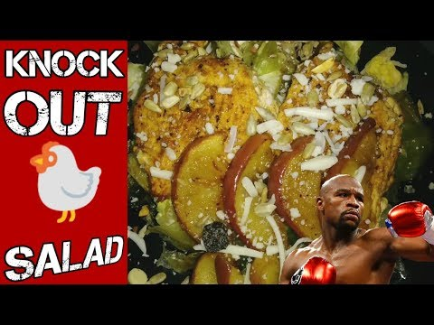 Healthy Recipe After Boxing Workout | Sweet Soy Split Chicken Breast Salad