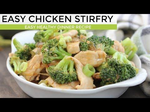 CHICKEN STIR FRY | Easy Dinner Recipe