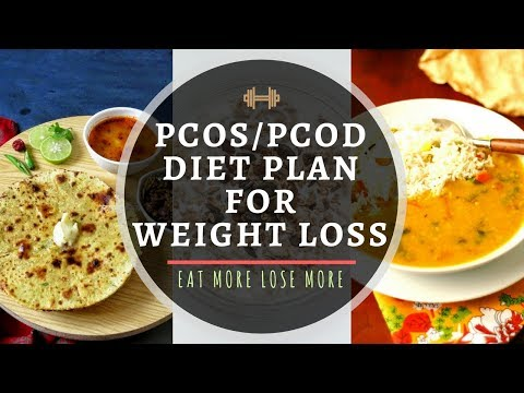 PCOD/PCOS Diet Plan for Weight Loss | How to Lose Weight Fast with PCOS | Eat More Lose More