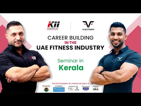 Free Fitness Seminar In Kerala| For the Very First Time |Career Building In The UAE Fitness Industry