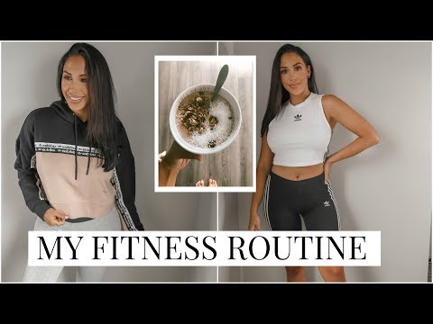 MY FITNESS ROUTINE: quick recipes, fav workouts & activewear!