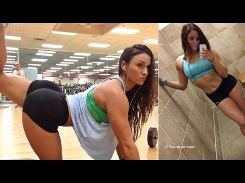 LAURA KOPEL – Fitness Model: Exercises and workouts @ USA