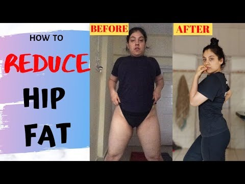 How To REDUCE HIP FAT PERMANENTLY | Naomi Ganzu Fitness