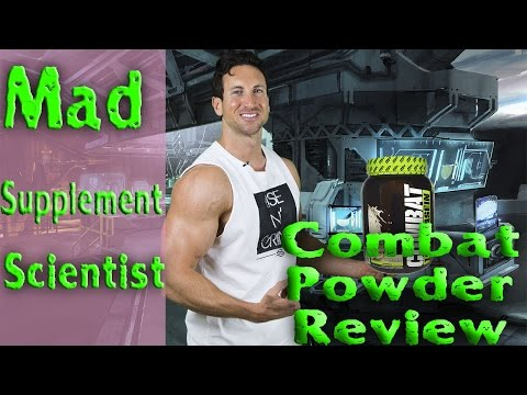Muscle Pharm Combat Protein Powder Review | MAD SUPPLEMENT SCIENTIST EP. 2