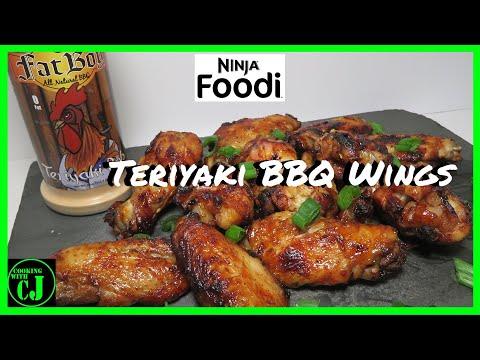 Teriyaki BBQ Chicken Wings | Ninja Foodi Recipes | Ninja Foodi Chicken Wings