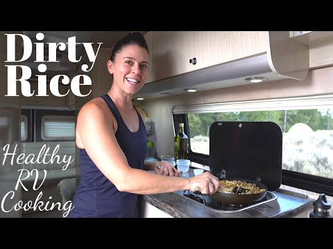 Dirty Rice | RV Cooking & Healthy RV Recipes #17