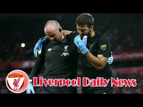 Liverpool News:  Alisson making 'steady progress' in return to fitness, say Liverpool