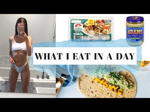 WHAT I EAT IN A DAY : Healthy Vegetarian Meals
