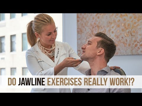 Do Jawline Exercises Work? I Asked a Professional | ft. Dr. Russak