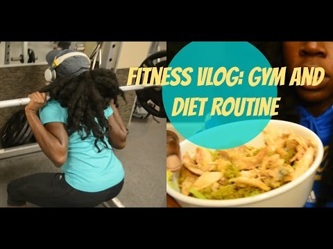 Fitness Vlog| My Gym Routine and Healthy  Diet Routine