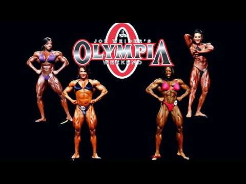 Ms. Olympia Fitness Competitors