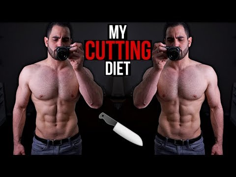 Here's My Cutting Diet [MEAL BY MEAL]