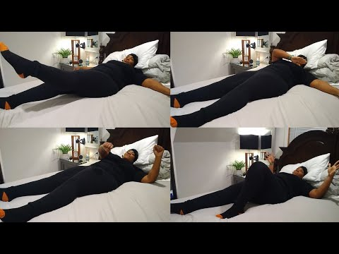 AT HOME FITNESS (IN BED EXERCISES) CONFESSIONS OF AN OBESE FED UP WOMAN DAY #36