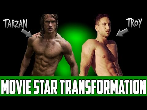 Tarzan Workout and Diet Plan To Build Muscle Fast | The Alexander Skarsgard Transformation!