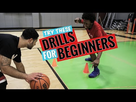 10 BEST Basketball Drills For BEGINNERS!! 💪🏀