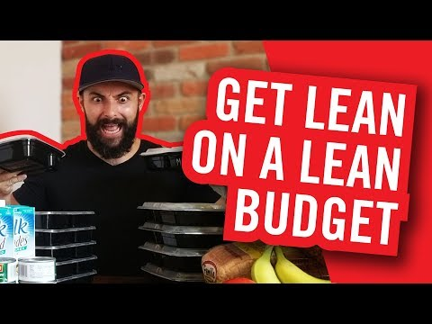 Weekly meal prep | Cutting meal plan on a budget