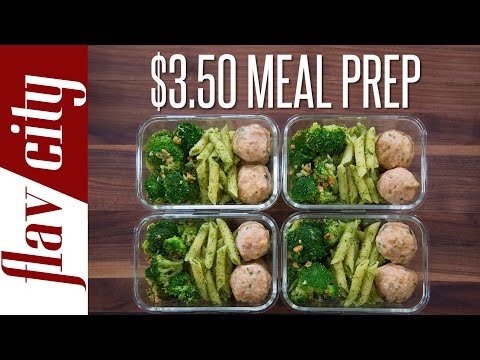 Meal Prep On A Budget – How To Budget Meal Prep ($3.50/meal)