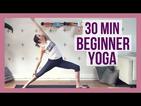 30 min Beginner Yoga – Full Body Yoga for Strength and Flexibility