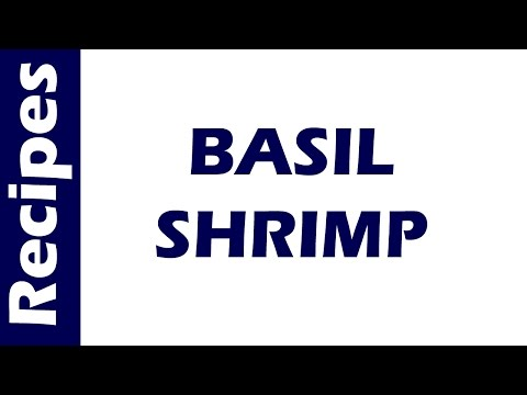 BASIL SHRIMP | WORLD FAMOUS RECIPES | HOW TO MAKE | RECIPES LIBRARY