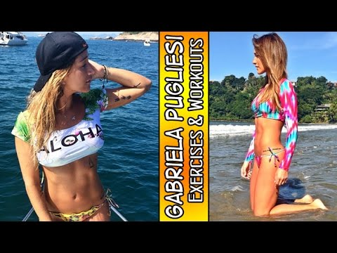 GABRIELA PUGLIESI – Fitness Model: Exercises and Workouts for Every Muscle Group @ Brazil