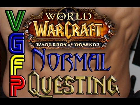 WoW WoD BEGINNER QUESTING VIDEO GAME FITNESS PROGRAM