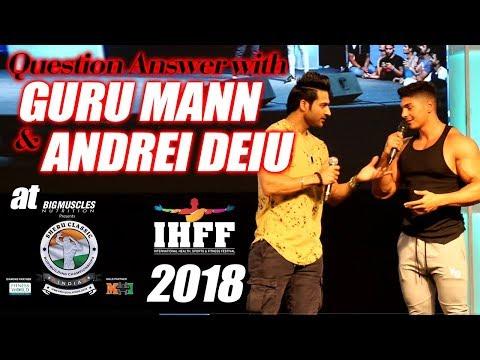 Guru Mann | Andrei Deiu | Fitness Expert | Fitness Model | Sheru Classic 2018