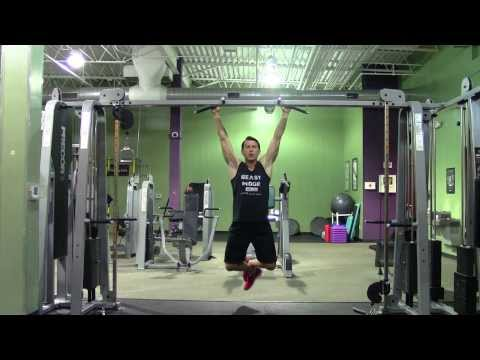 POWER Pull Up Workout in the Gym – HASfit Pullup Workouts – Pull Up Exercises – Pull Up Training