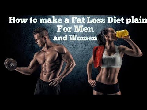 How to make a Fat loss diet plan for Men and Women"