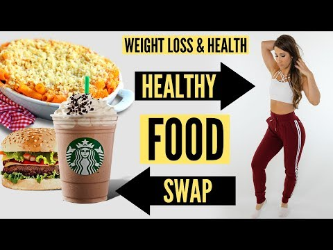 Food Swaps For Weight Loss & Health – Dietitian Talk