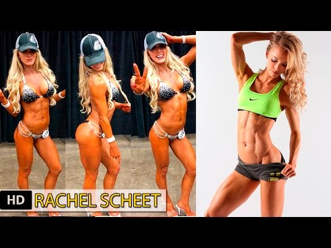 RACHEL SCHEER Fitness Model: Workouts for the best Female Fitness ABS