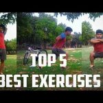 NO GYM FULL BODY WORKOUT AT HOME | BEST 5 HOME EXERCISES