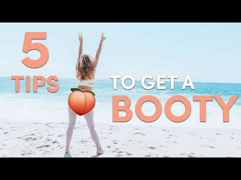 5 Tips To Build a Booty in 31 days | Fitness Challenge + Giveaway!!