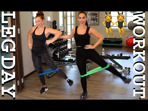 EASY AT HOME / GYM WORKOUTS | LEG DAY