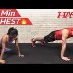 15 Min Chest Workout at Home – Chest Workouts with Dumbbells – Pectoral Exercises for Men & Women