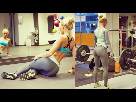 ALEXANDRA BRING – Fitness Model: Crossfit Workouts to Tone Legs and Butt @ Sweden