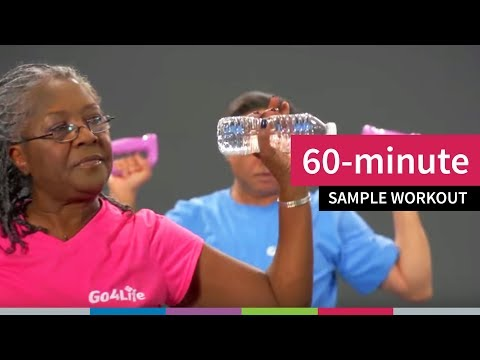60-minute Sample Workout for Older Adults from Go4Life