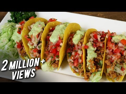 Chicken Mexican Tacos Recipe | Tacos With Chicken Filling | The Bombay Chef – Varun Inamdar