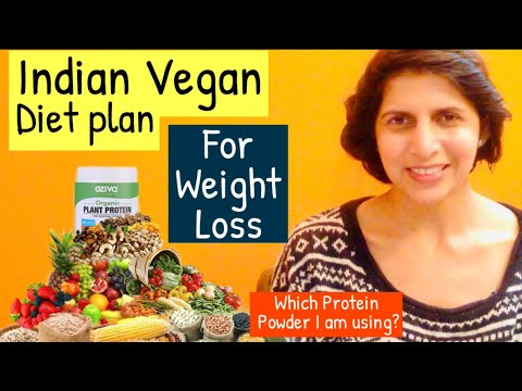 Indian Vegan Diet Plan For Weight Loss | Which Plant Protein I am using ? | Veganism in Hindi