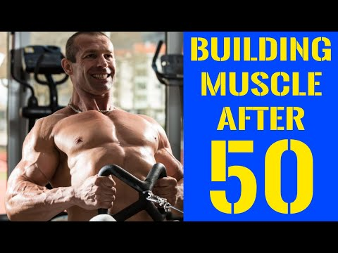 Building Muscle After 50 – The Definitive Guide