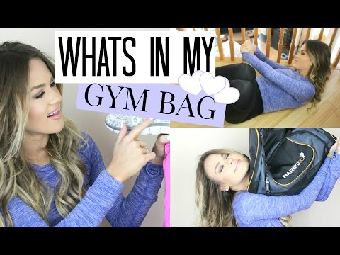 Easy At-Home Ab Workouts + Whats In My Gym Bag?!