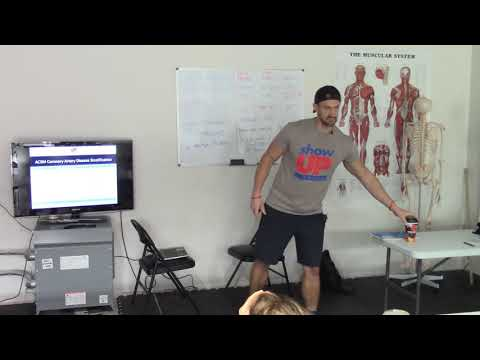 ACSM Risk Stratifications CAD |Show Up Fitness|