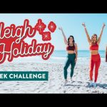 4 Week Sleigh The Holiday CHALLENGE is here! // Free Workout Plan