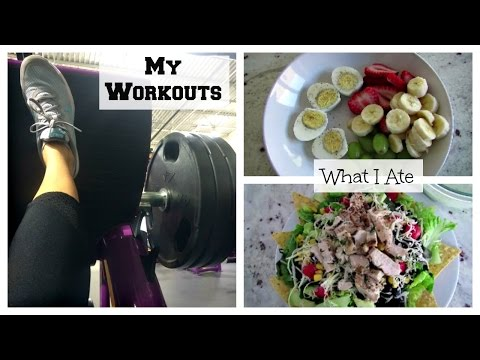 What I Ate M-F + Workouts   Fitness Motivation