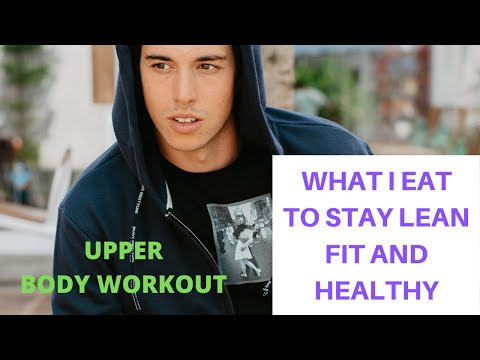 What I Eat In Amed BALI Vlog + UPPER BODY WORKOUT For Bigger Chest, Back And Arms (Fitness Food!)
